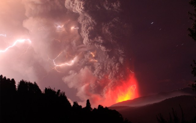 Chile's Puyehue Volcano Erupts - The Atlantic