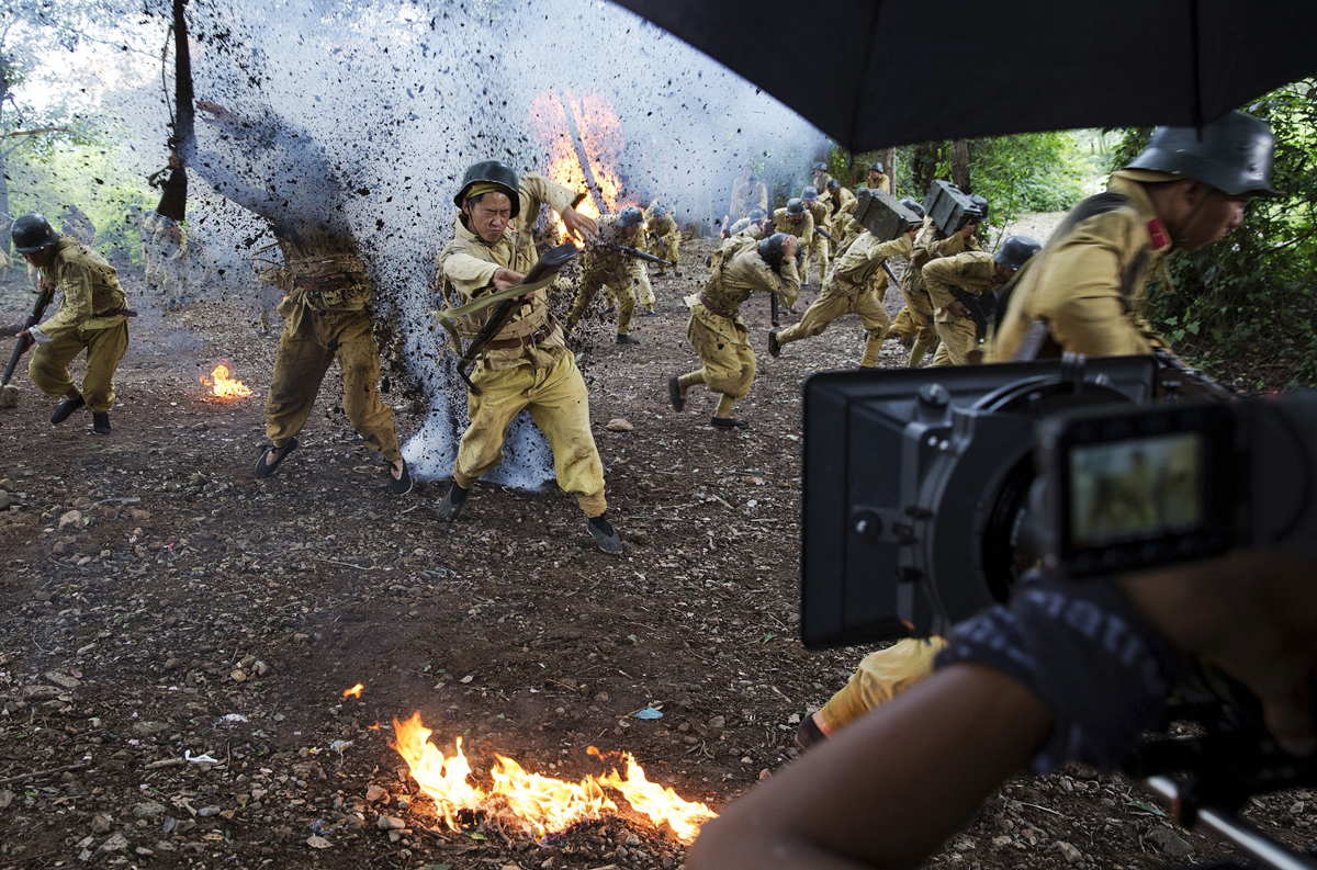 Behind The Scenes Of A Chinese World War Ii Drama