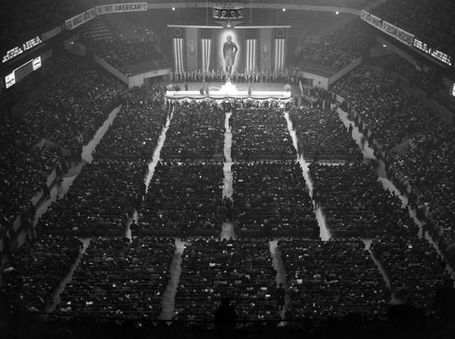 20 lutego 1939, Kongres Amerykańskich Nazistów w Nowym Jorku