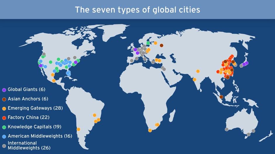 Los Siete Tipos De Ciudades Globales Que Estan Impulsando