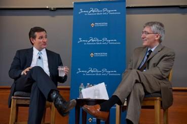 Ted Cruz and Robert George
