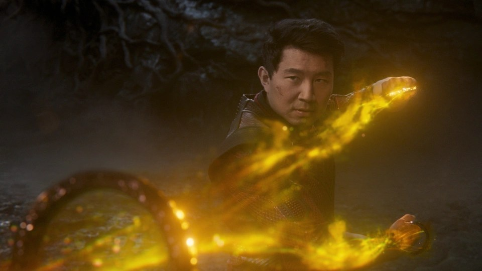 """A fight scene from """"Shang-Chi and the Legend of the Ten Rings"""""""