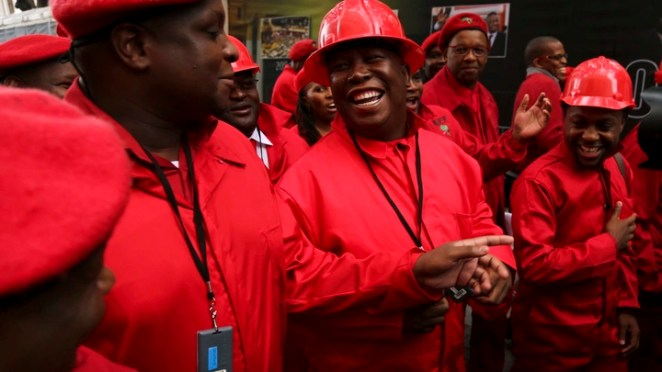 The Coded Clothes of South Africa's Economic Freedom Fighters - The Atlantic