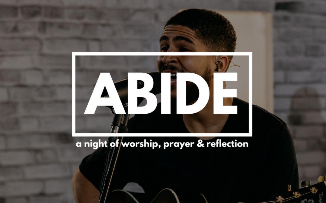 Abide Registration