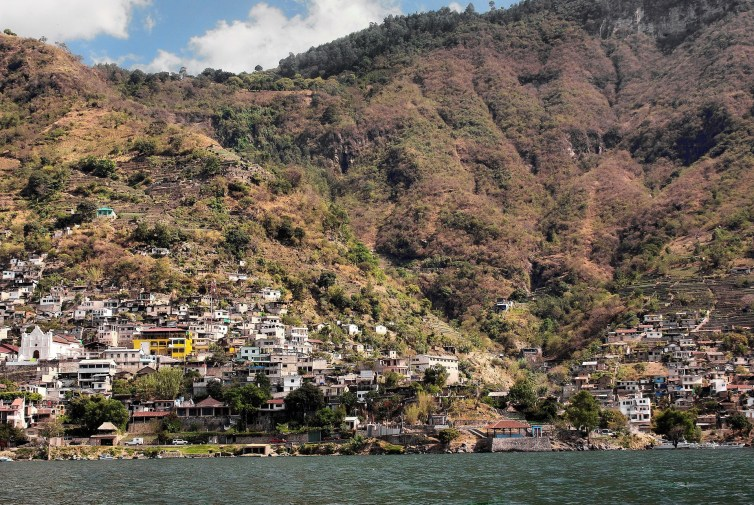 Around 12% of the population of the Atitlan Basin is connected to sanitation. Courtesy: The Converastion