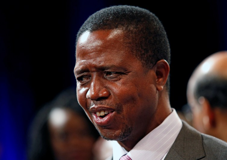 Zambian President Edgar Lungu has been criticised for turning the country into a dictatorship. Credit: Reuters/Rogan Ward
