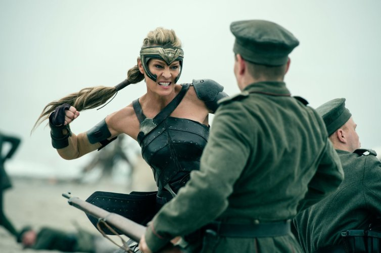 Robyn Wright as General Antiope. Credit: Atlas Entertainment/Cruel & Unusual Films/DC Entertainment/The Conversation