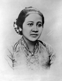 Indonesia's first feminist and national hero, Kartini. Tropenmuseum, part of the National Museum of World Culture. Credit: Wikimedia Commons