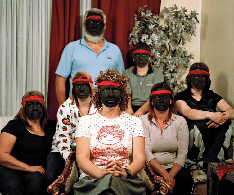 Not really Aboriginal, 2008, Bindi Cole Chocka, pigment print, 100.0 × 120.0. National Gallery of Victoria, Melbourne Purchased, Victorian Foundation for Living Australian Artists, 2016