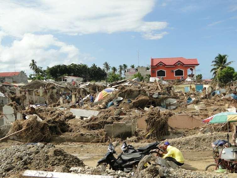 Flash floods hit the Philippines in 2011. Credit: Mathias Eick EU/ECHO, CC BY-SA
