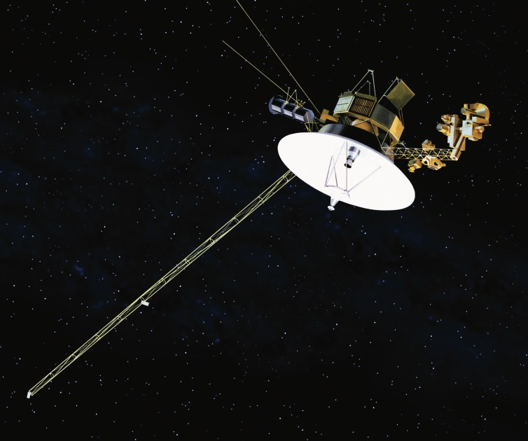 Both Voyager spacecraft are only in communication with Earth via a Canberra tracking station. NASA/JPL