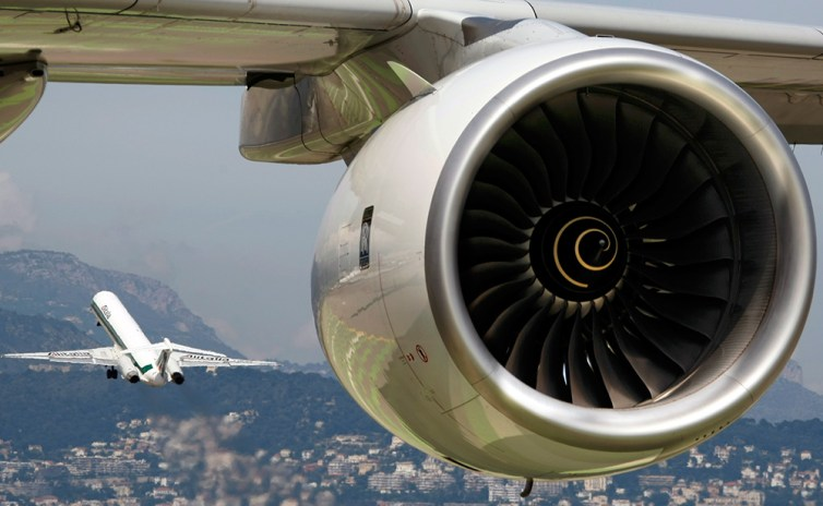 Jet engines are among the United States' biggest exports to France. Credit: Reuters/Eric Gaillard