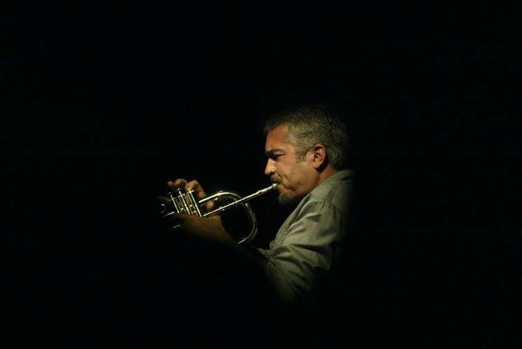 South African trumpeter, Marcus Wyatt. Credit:Muntu Vilakazi/Sunday Times