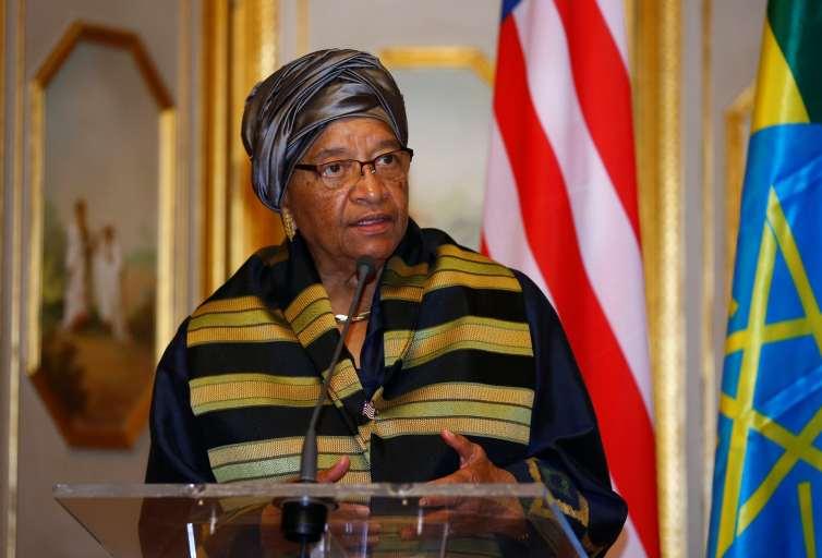 Ellen Johnson Sirleafs record on womens rights has been mixed. Credit: Reuters/Tiksa Negeri