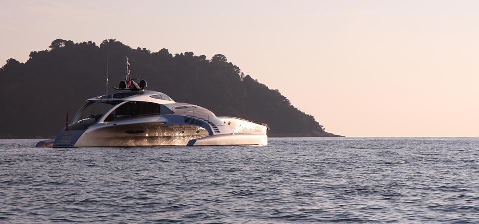 Adastra Superyacht Takes To The Seas
