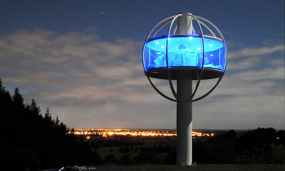 Towering Skysphere Tiny House By Jono Williams Thecoolist