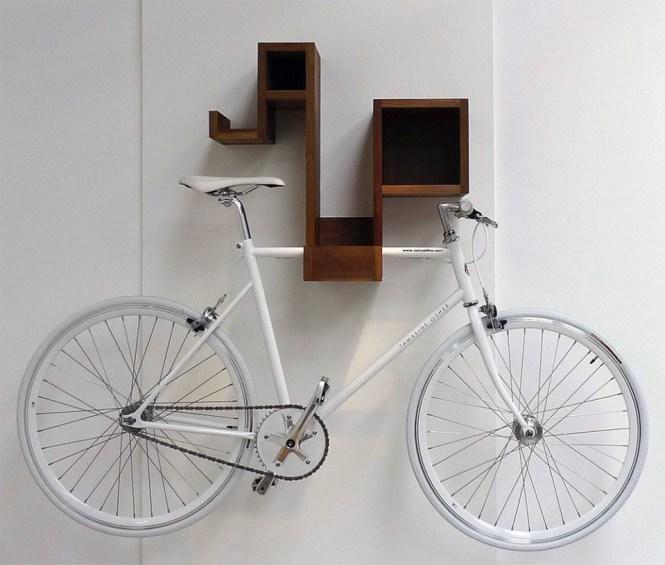 View In Gallery Pedal Pod Indoor Bike Rack
