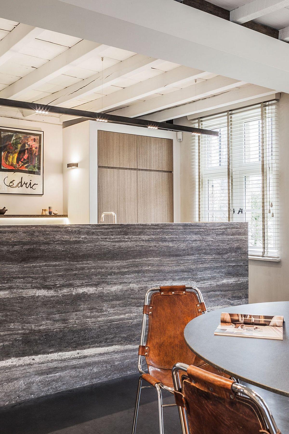 Belgian Farmhouse Gets Gorgeous Interior Makeover But