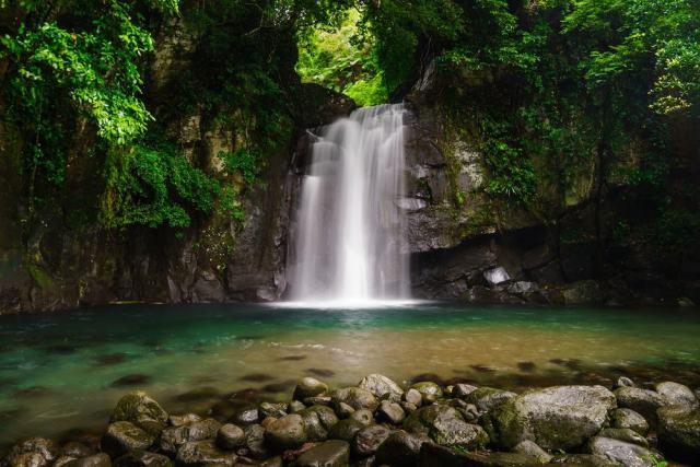 Vera Falls in Legazpi Albay