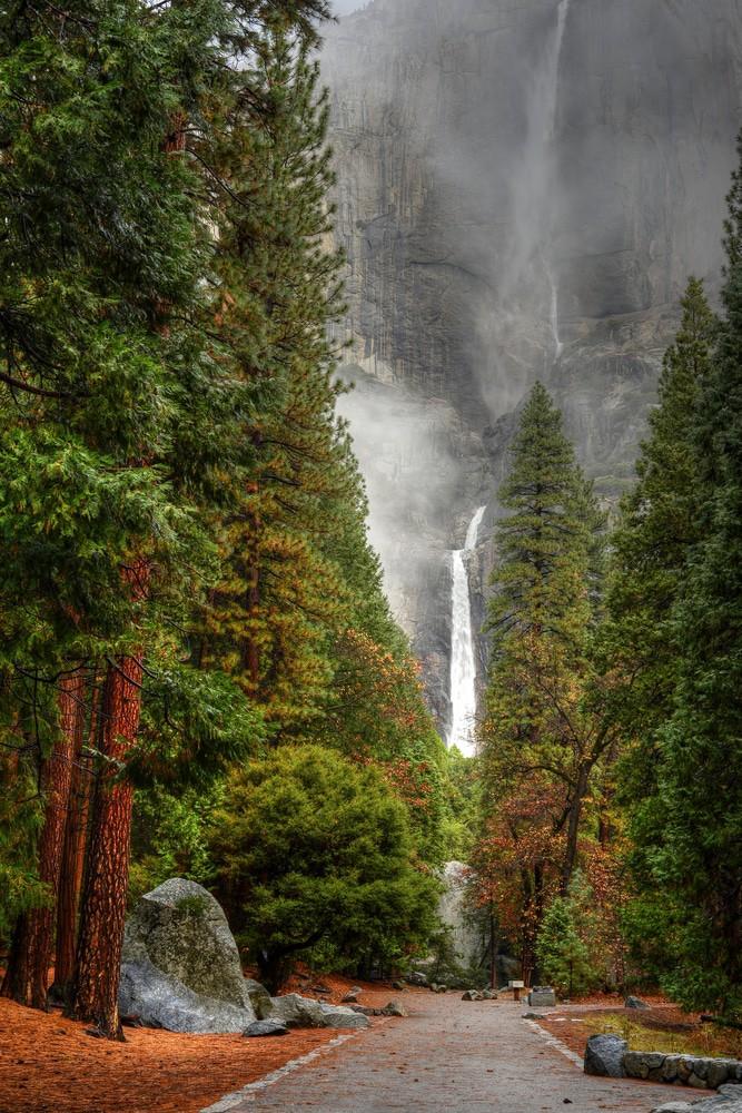 Parque de la nación de Yosemite