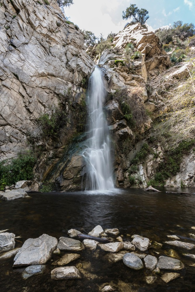 30 Most Beautiful Places to Visit in California   The Crazy Tourist Sturtevant Falls in the Angeles National Forest