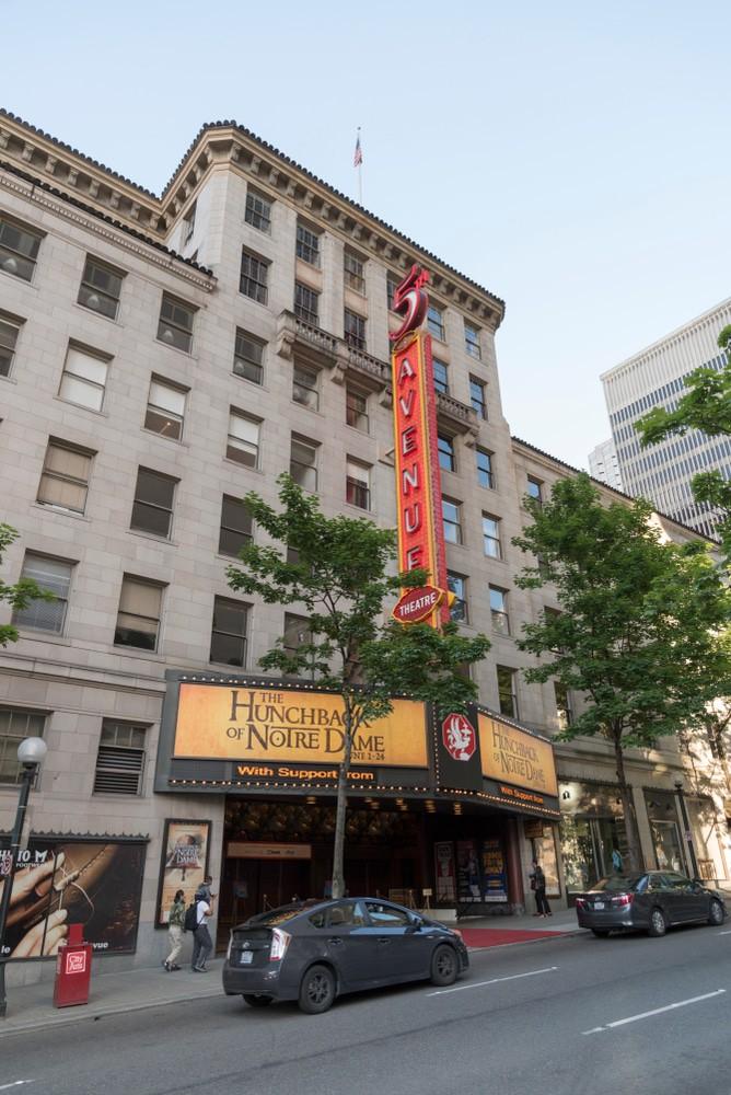 Teatro 5th Avenue, Seattle