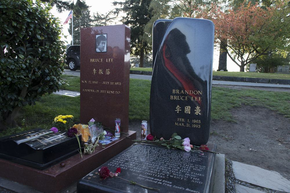 Tumba de Bruce Lee y Brandon Bruce Lee