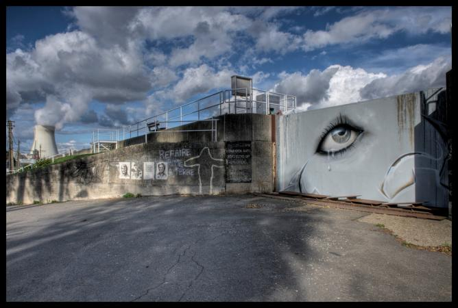 The Stunning Street Art Of Belgiums Decaying Ghost Town