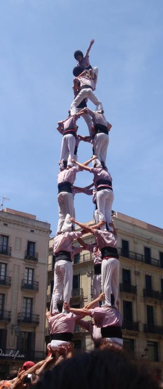 Catalonias Human Towers The Art Of Castells