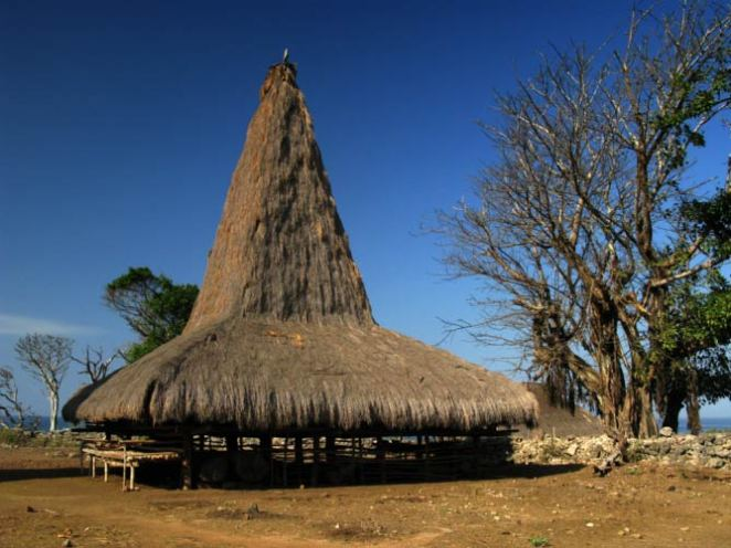 Traditional House in Sumba