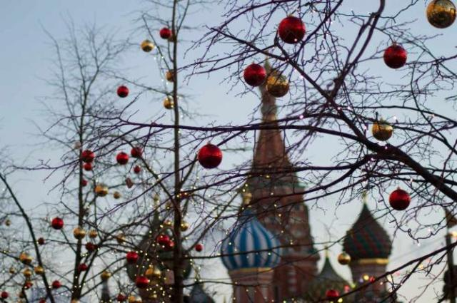 The view of St Basil's, just outside Moscow's Kremlin walls   Courtesy of Stefan Hunt