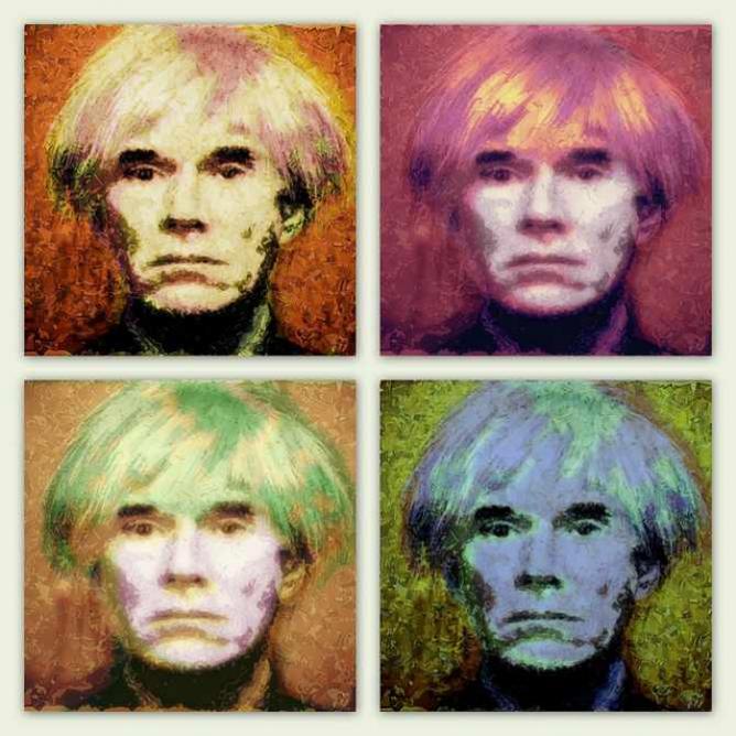 Four Warhols | © QThomas Bower/Flickr