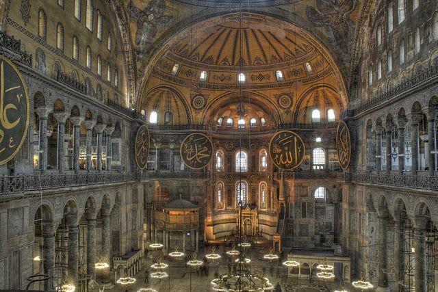 Hagia Sophia © Michael Day/WikiCommons