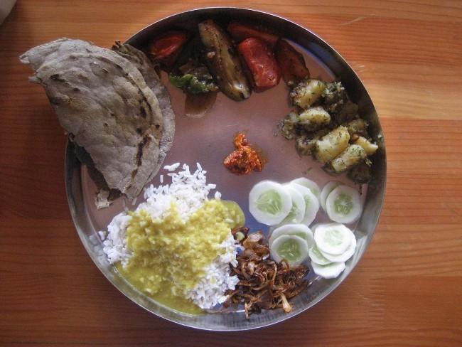 Karnataka Jolada Rotti, Palya and Anna-Saaru | © WikiCommons Nick Gray