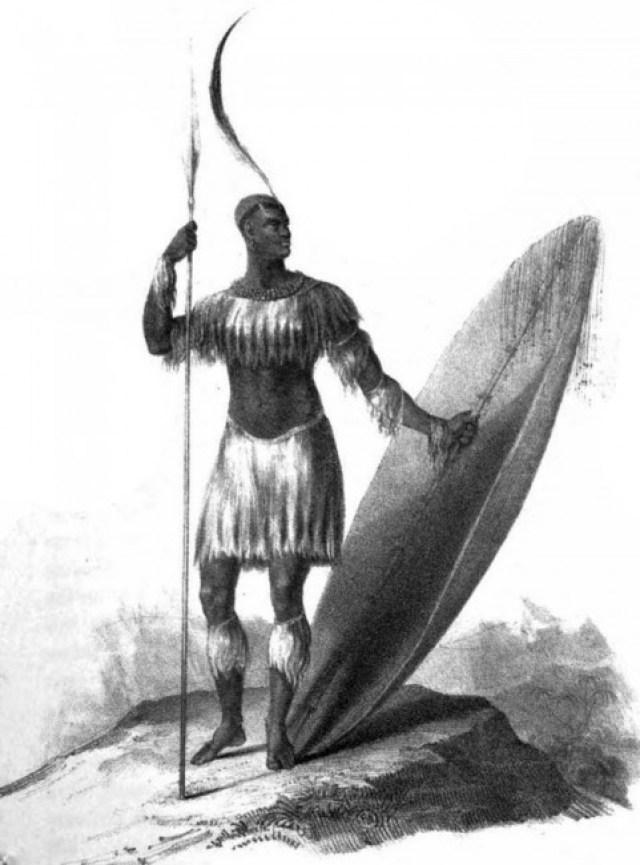 African warrior as in Chakaipa's Karikoga Gumi Remiseve| © James King/WikiCommons