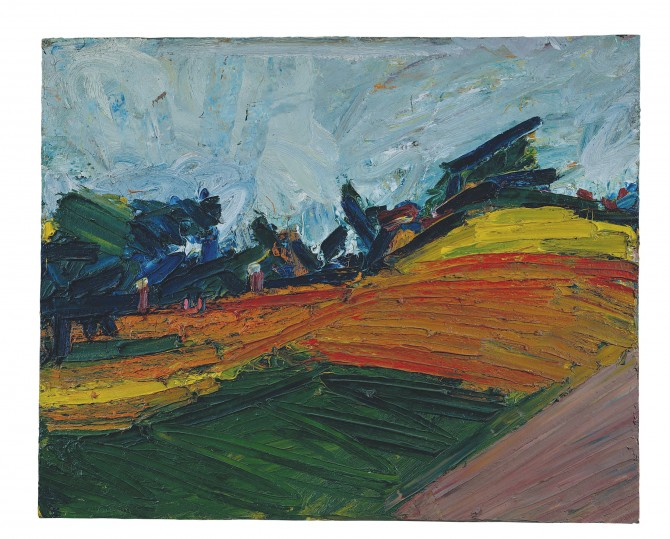 The Most Important Works By Frank Auerbach