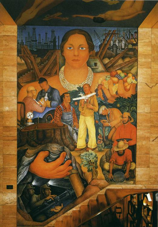 A Brief Overview Of Diego Riveras Murals In San Francisco