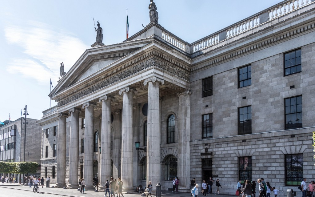 A History Of The GPO Dublin In 1 Minute