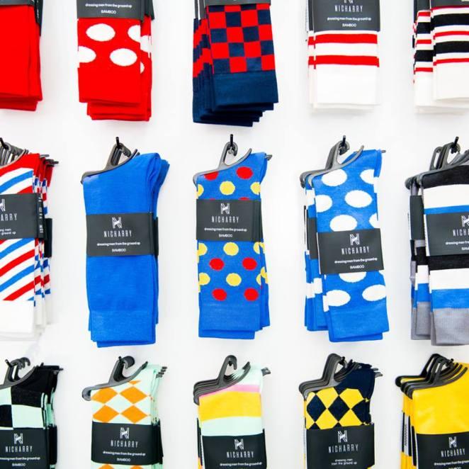 Nic Harry socks © Nic Harry/Courtesy of Nic Harry