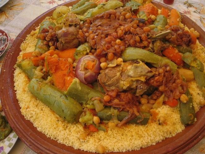 Moroccan Couscous | © Khonsali / WikiCommons