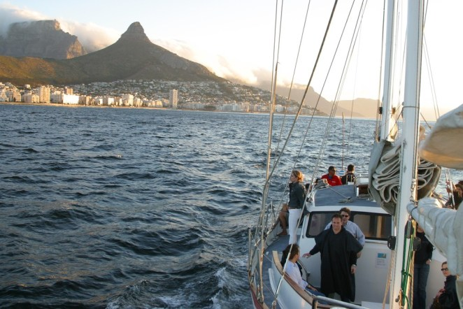 Sunset cruise, Cape Town © Thomas Sly/Flickr