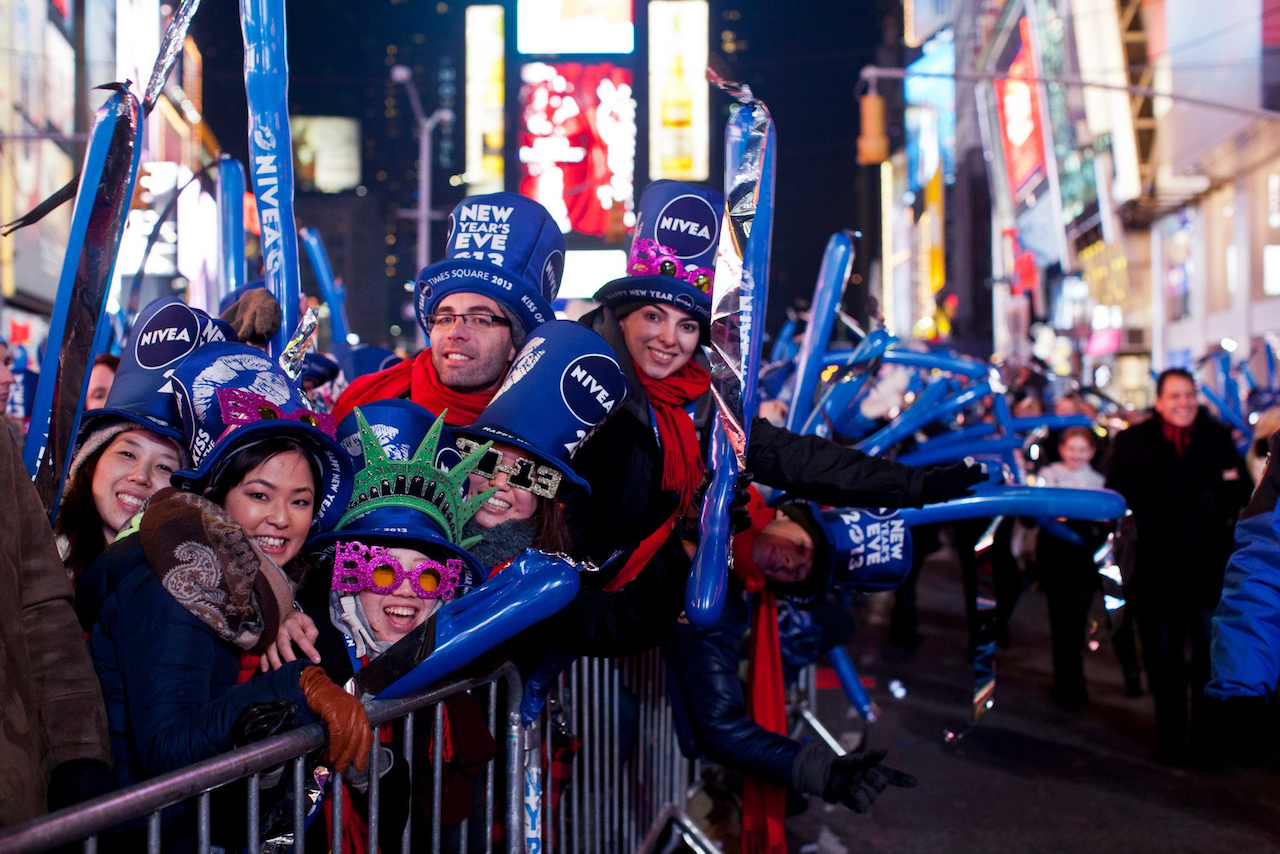 New Year's Eve in Times Square New York City working with NBC   © Anthony Quintano/Flickr