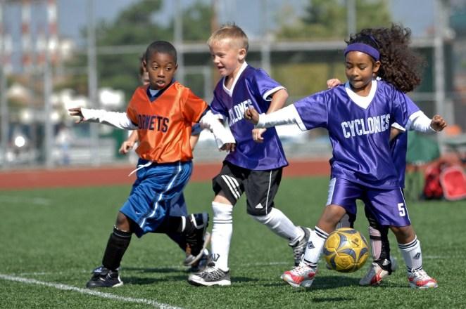 Children's soccer © PROUSAG- Humphreys/Flickr