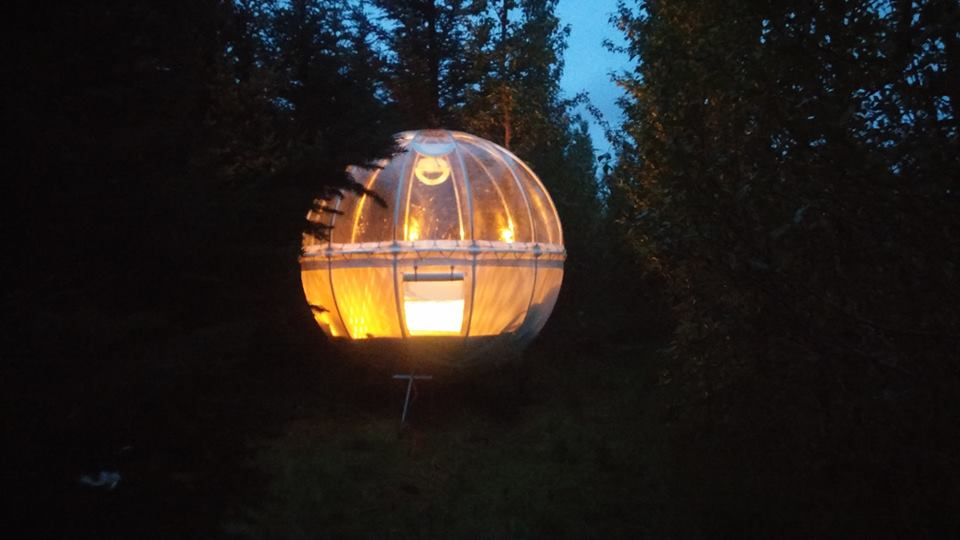 Escape Into A Stargazing Bubble In Icelands New Hotel