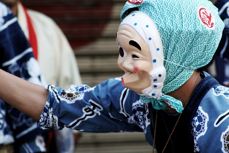 Traditional Japanese Masks and What They're Used For