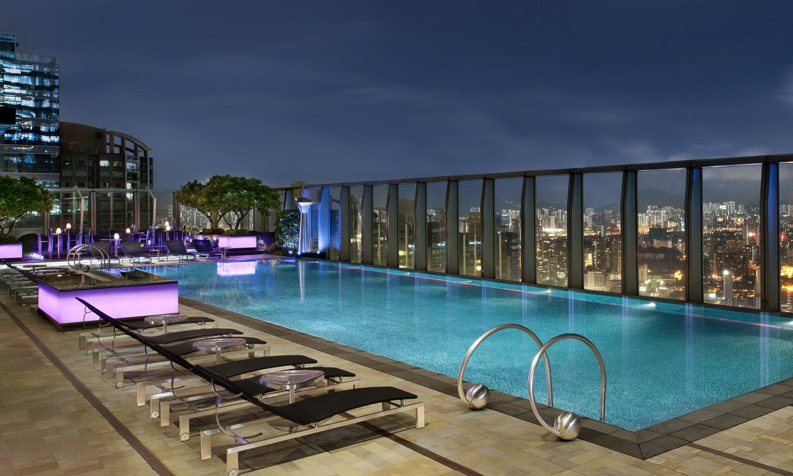 7 Best Rooftop Swimming Pools In Hong Kong