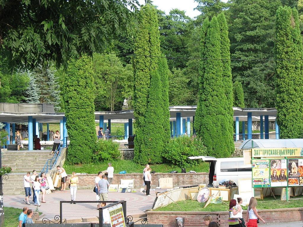 Truskavets_Park أوكرانيا