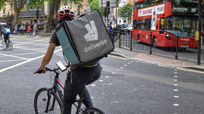 Only thing keeping man going is not working for Deliveroo