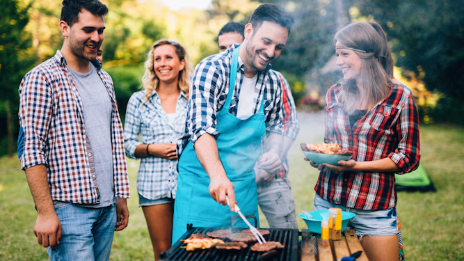Barbecues 'like smoking 20 cigarettes but not as cool'