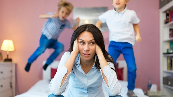 Five ways to avoid swearing in front of your f**king annoying kids